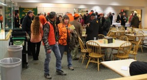 GUN MIXER: Gun enthusiasts fill the Vermont Statehouse for a mixer with legislators.