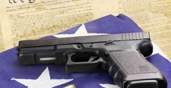 Democratic candidate Cris Ericson stands up for the right to bear arms