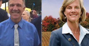Wind turbines, education separate Minter and Scott in Vermont debate