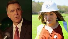 Hayden Dublois and Christine Hallquist for Vermont